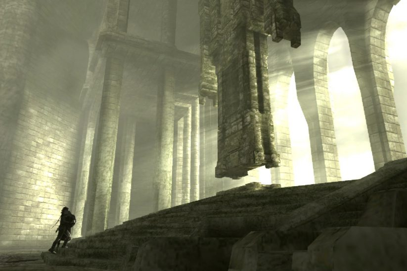 Shadow of the Colossus Art Style