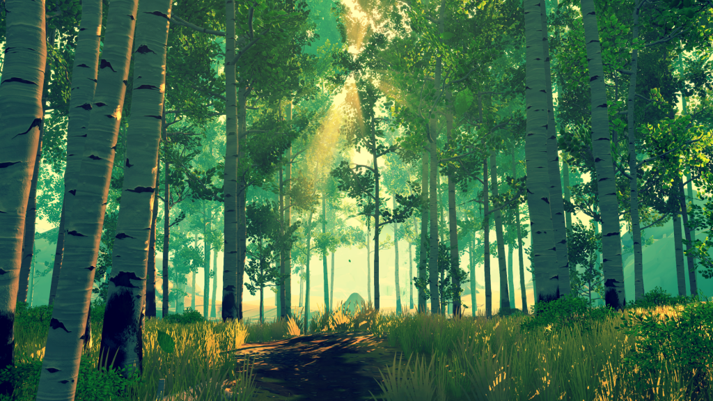 Firewatch Forest